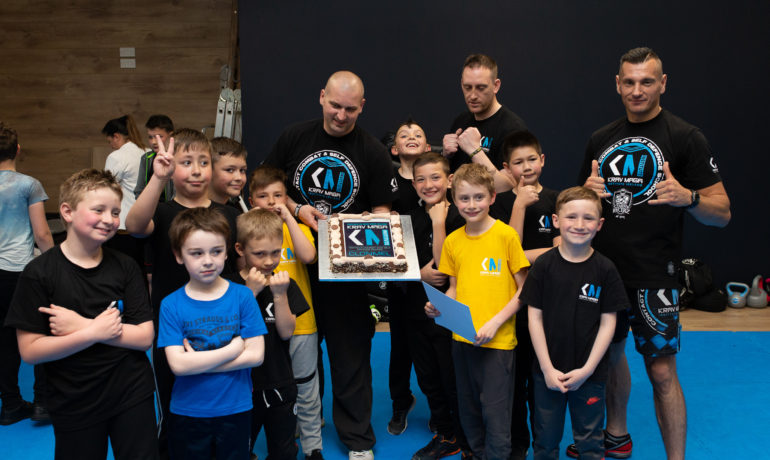 Super Kravers Kids Krav Maga Testing in Clonmel May 2018